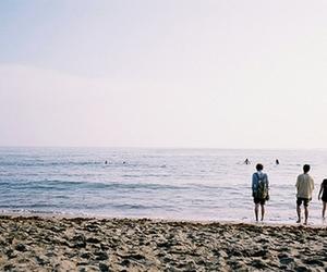 boy, sea, and vintage image