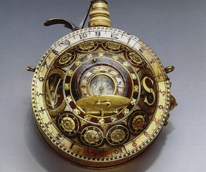 watch, steampunk, and clock image