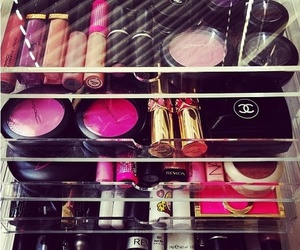 makeup, pink, and chanel image