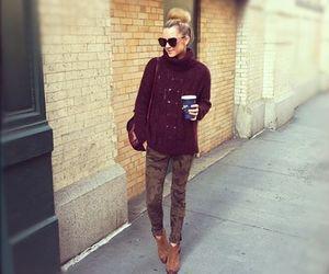 bag, fashion, and leggings image