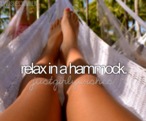 hammock, relax, and summer image