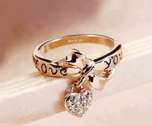 i, ring, and love image