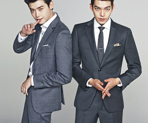 kim woo bin, korean, and lee jong suk image
