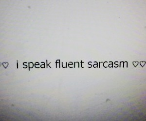 sarcasm, quotes, and grunge image