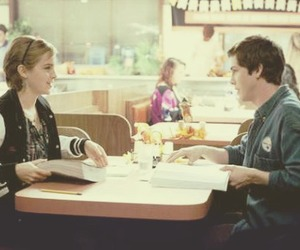 emma watson, logan lerman, and love image
