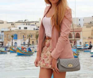 clothes, looks *-*, and love pink summer fashion image