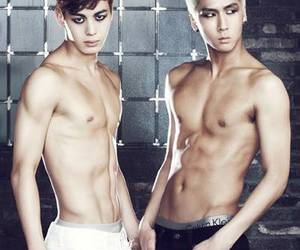 vixx, ravi, and hongbin image