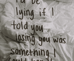 love, quotes, and lying image