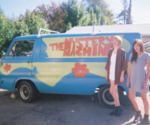 girls, indie, and scooby doo image