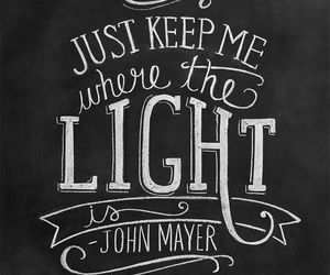 quote, john mayer, and love image