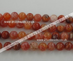 loose agate beads, fire crackle agate beads, and faceted agate beads image