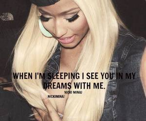 nicki minaj and quote image