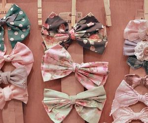 asian, bows, and colorful image