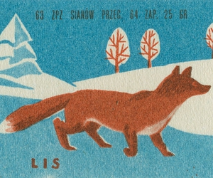 fox and stamp image