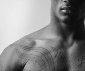 abs, lips, and tattoo image