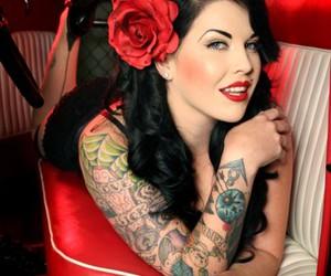 rockabilly and tattoo image
