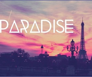 paradise, sky, and paris image