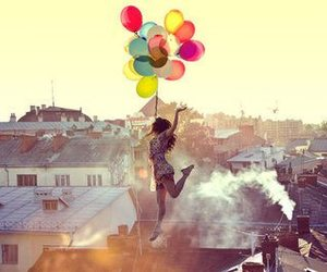 balloons, fly, and Dream image