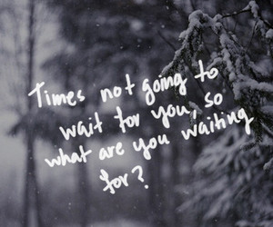 quotes, winter, and snow image