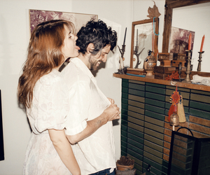 love, couple, and devendra banhart image
