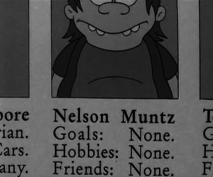 nelson, simpsons, and los simpsons image