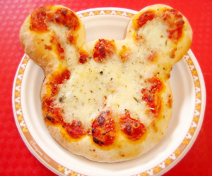 food, pizza, and disney image