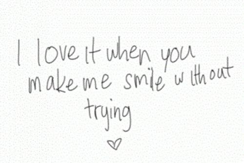 Imágenes De A Quote To Make A Girl Smile