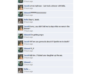 facebook, funny, and lol image
