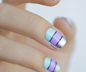 nails, nail art, and cute image