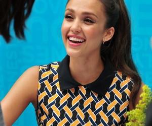 beautiful, jessica alba, and smile image