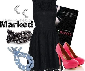 book, house of night, and marked image