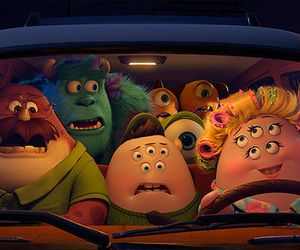 monsters university, disney, and monster image
