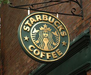 cafe, restaurant, and starbucks image