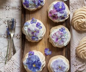 flower, lavender, and purple image