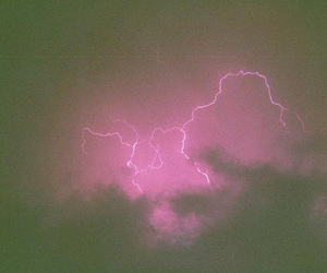 lightning, pink, and purple image