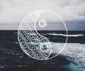 sea, ocean, and hipster image