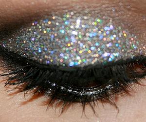 maquillaje, ojo, and pintado image
