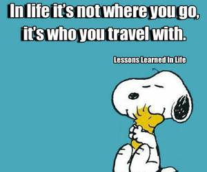 snoopy and travel image
