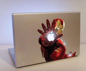 iron man, apple, and mac image