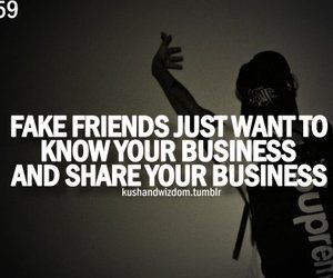 quote, fake, and friends image