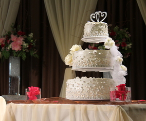 cake, happy, and decoration image