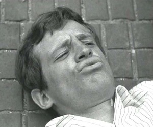 a bout de souffle, jean paul belmondo, and jean-luc godard image