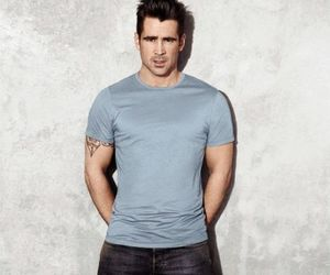 actor, colin farrell, and handsome image