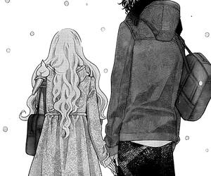 manga, couple, and kyou no kira-kun image