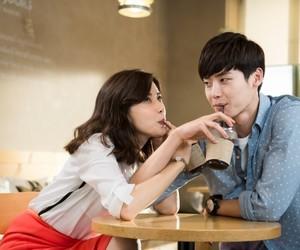 couple, lee bo young, and lee jong suk image