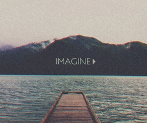 imagine, sea, and Dream image