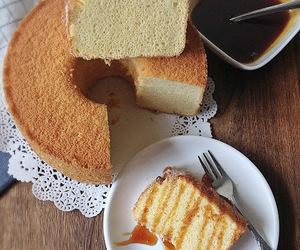 cake, wow, and chiffon cake image