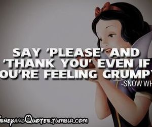 snow white, disney, and quote image