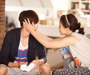 lee jong suk, lee bo young, and i hear your voice image