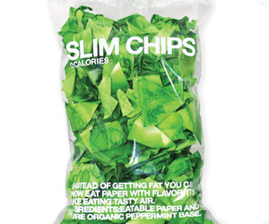 chips, food, and green image